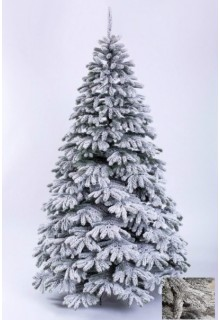 Искусственная Литая елка Заснеженная Стефани (без веток ПВХ) EXCLUSIVE 2,1м