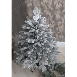 Заснеженная искусственная литая елка Диора Снежная