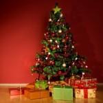Распродажа искусственных елок, акции, скидки